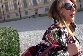 Italianca agatata pe strada se fute acasa
