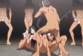 Gangbang hentai cu o scolarita